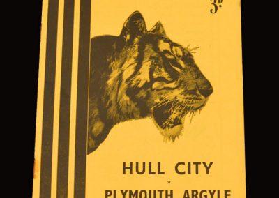 Hull City v Plymouth Argyle 26.02.1955