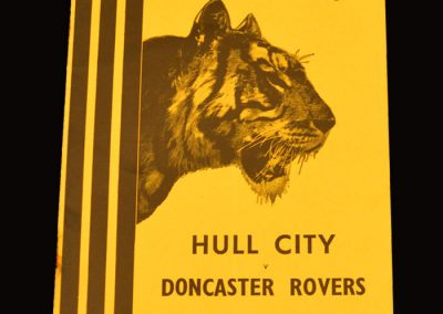 Hull City v Doncaster Rovers 23.04.1955