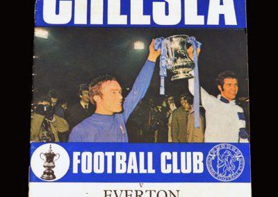 Chelsea v Everton 08.08.1970 - FA Charity Shield