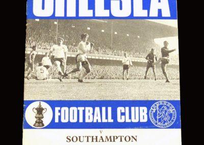 Chelsea v Southampton 31.10.1970