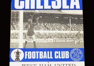 Chelsea v West Ham 19.12.1970