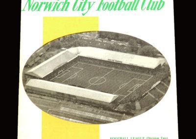 Middlesbrough v Norwich 04.11.1967