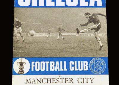 Chelsea v Man City 23.01.1971 - FA Cup 4th Round