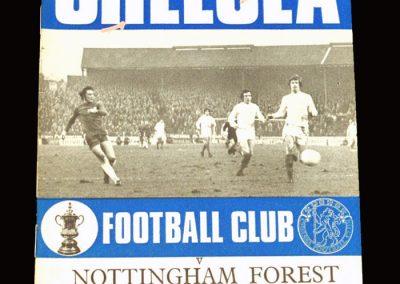 Chelsea v Notts Forest 17.02.1971