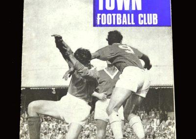Middlesbrough v Ipswich 16.12.1967