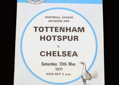 Chelsea v Spurs 13.03.1971
