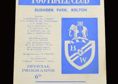 Middlesbrough v Bolton 26.12.1967