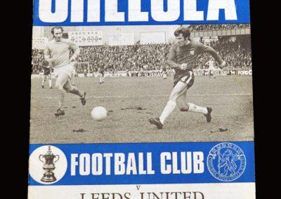 Chelsea v Leeds 27.03.1971