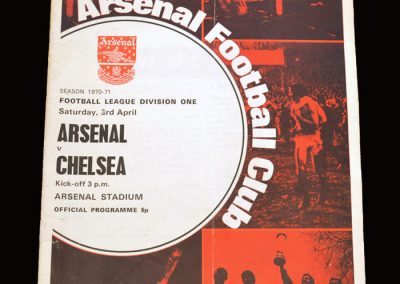 Chelsea v Arsenal 03.04.1971