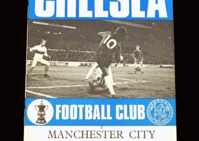 Chelsea v Man City 14.04.1971 - UEFA Cup Winners Cup Semi Final 1st Leg