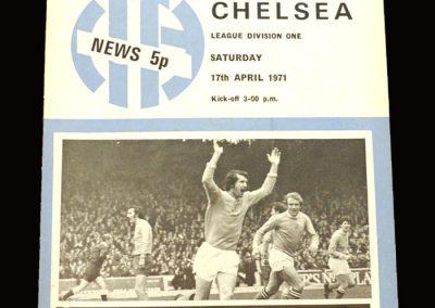 Chelsea v Man City 17.04.1971
