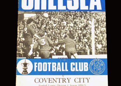 Chelsea v Coventry 24.04.1971