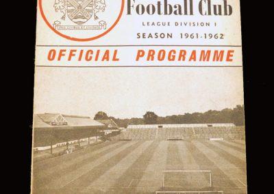 Fulham v Man City 23.08.1961