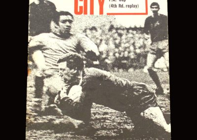 Middlesbrough v Bristol City 20.02.1968 - FA Cup 4th Round Replay