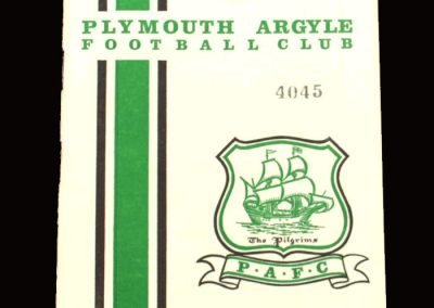 Middlesbrough v Plymouth 02.03.1968