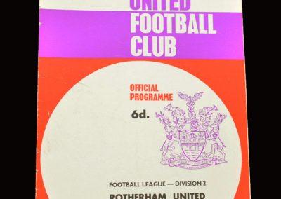 Middlesbrough v Rotherham 06.04.1968