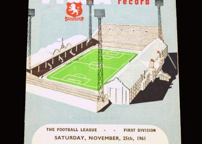 Aston Villa v Man City 25.11.1961