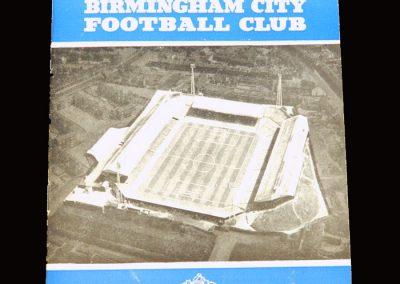 Birmingham v Man City 26.12.1961
