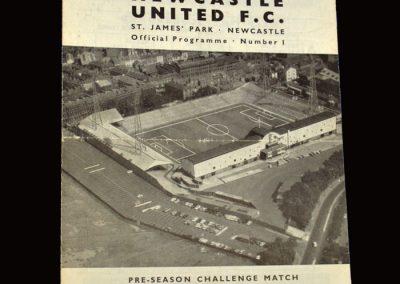 Middlesbrough v Newcastle 14.08.1965 - Friendly