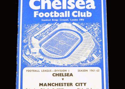 Chelsea v Man City 07.04.1962