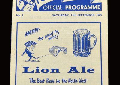 Middlesbrough v Preston 11.09.1965