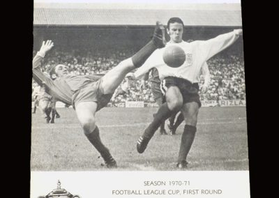 Leyton Orient v Fulham 19.08.1970 - League Cup 1st Round