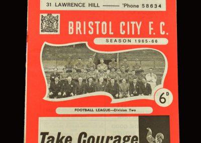 Middlesbrough v Bristol City 11.12.1965