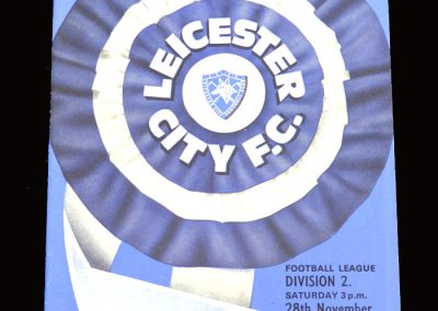Leyton Orient v Leicester 28.11.1970