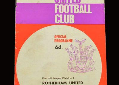 Middlesbrough v Rotherham 01.01.1966