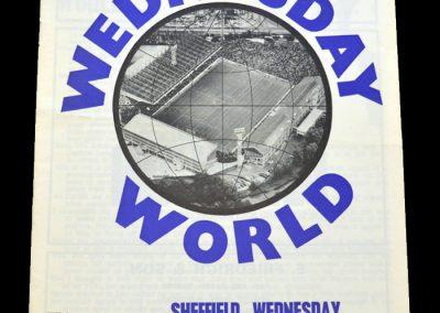 Leyton Orient v Sheff Wed 16.01.1971