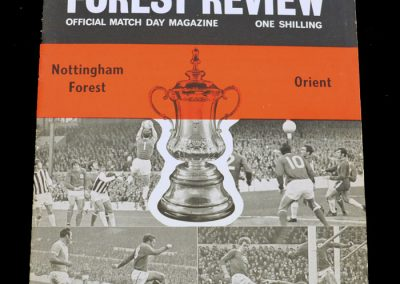 Leyton Orient v Notts Forest 23.01.1971 - FA Cup 4th Round