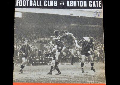 Leyton Orient v Bristol City 06.02.1971
