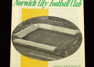 Middlesbrough v Norwich 27.04.1966