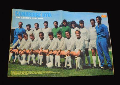 Cambridge United 1970-71 Team Photo