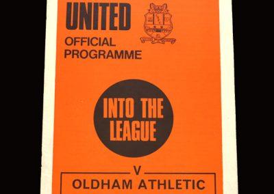 Cambridge v Oldham 29.08.1970