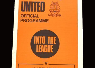 Cambridge v Hartlepool 26.09.1970