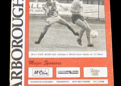 Aldershot v Scarborough 14.09.1991