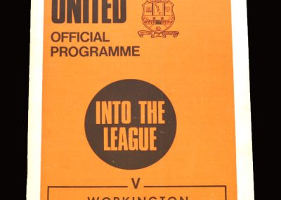 Cambridge v Workington 09.11.1970