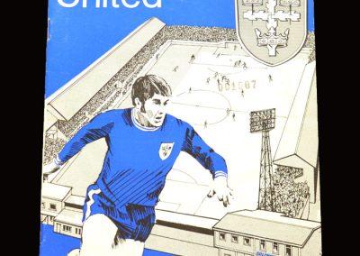 Cambridge v Colchester 12.12.1970 - FA Cup 2nd Round