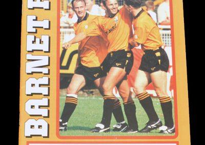 Aldershot v Barnet 03.03.1992