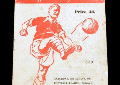 Man City v Rotherham 31.08.1963