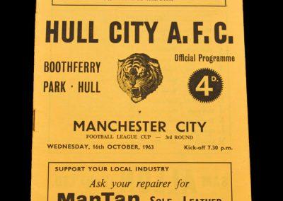 Man City v Hull 16.10.1963