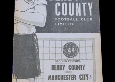 Man City v Derby 26.10.1963