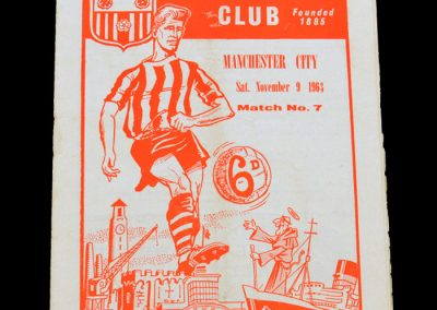 Man City v Southampton 09.11.1963