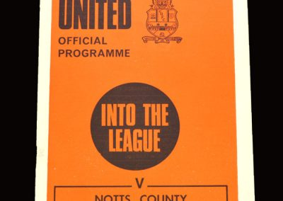 Cambridge v Notts County 10.04.1971