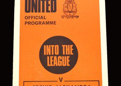 Cambridge v Crewe 24.04.1971