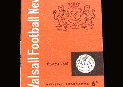 Shrewsbury v Walsall 11.09.1965