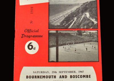 Shrewsbury v Bournemouth & Boscombe 25.09.1965