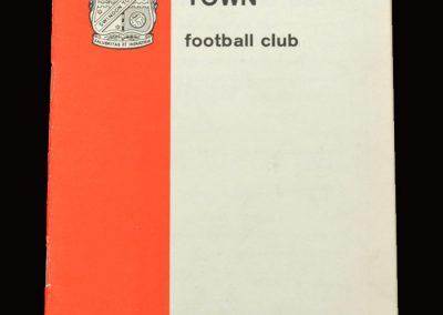 Shrewsbury v Swindon 26.04.1966