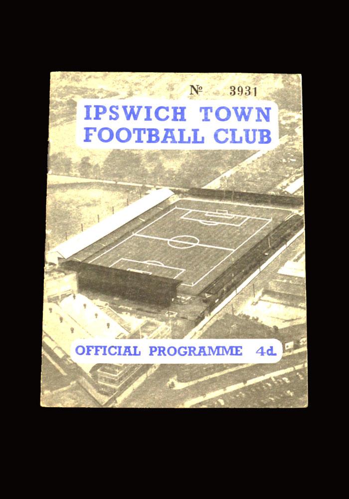 Sunderland v Ipswich 07.02.1959